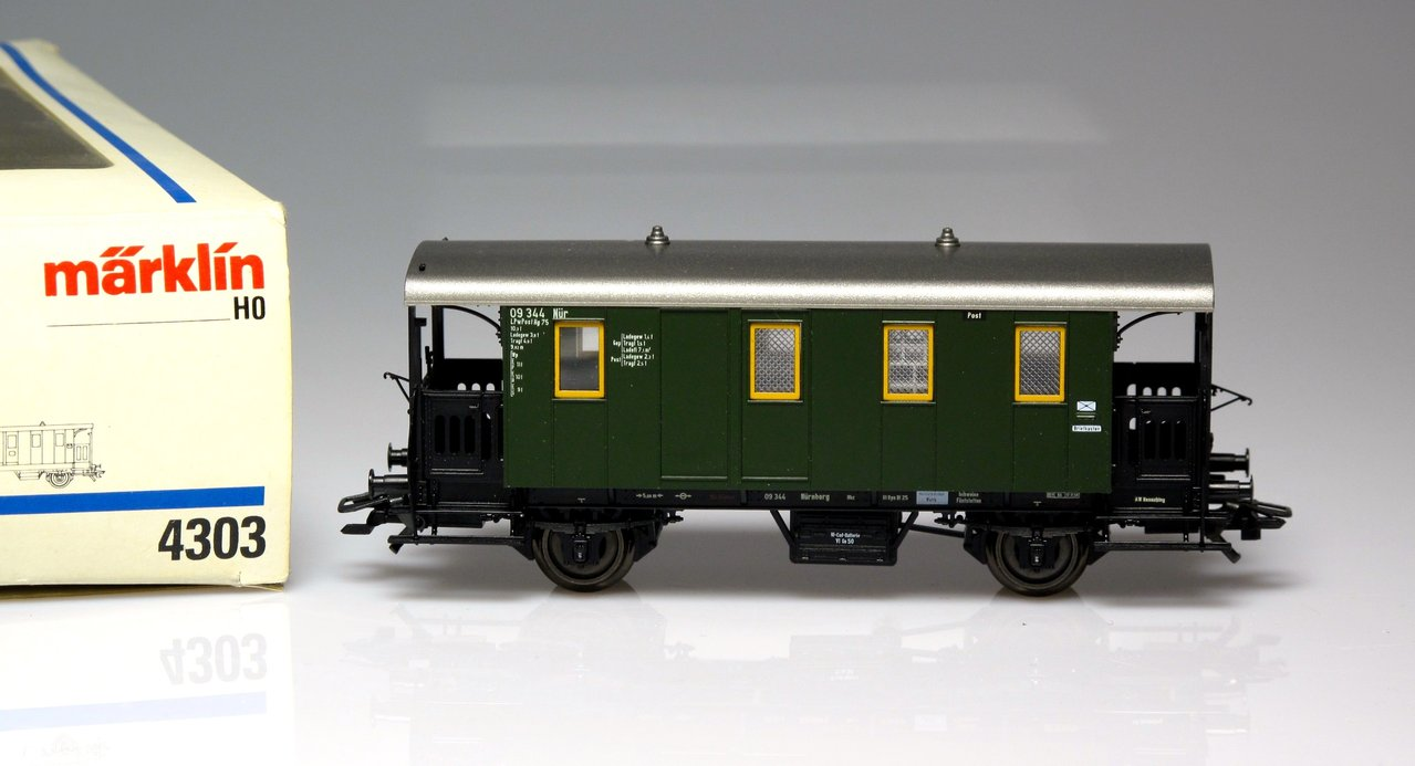 MARKLIN 4303 wagon train car post 3797