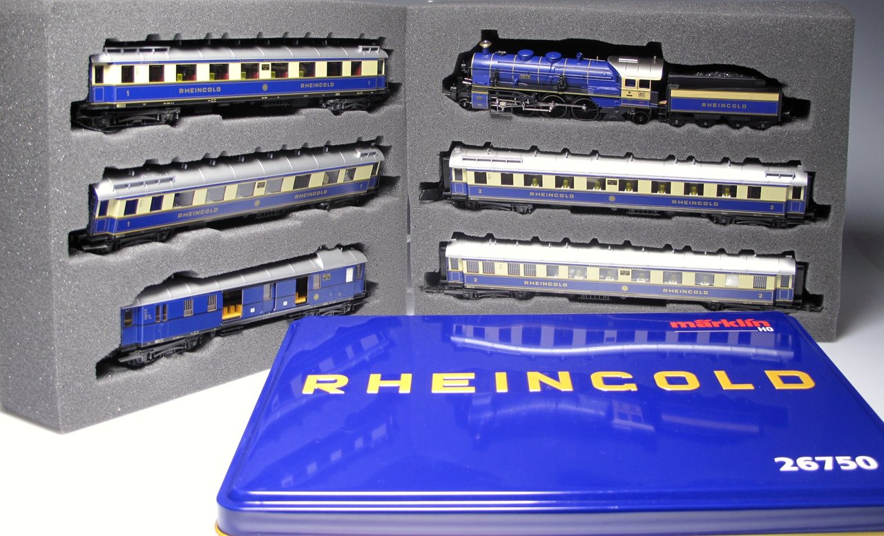 Marklin 26750 Set 75 Anniversary Rheingold Train Drg Www