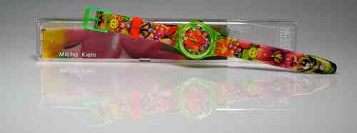 SWATCH Limited Edition -peace happiness- de Micha Klein