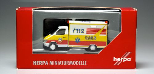 HERPA 46305 Mercedes-Benz Sprinter RTW ambulancia Samur 1:87