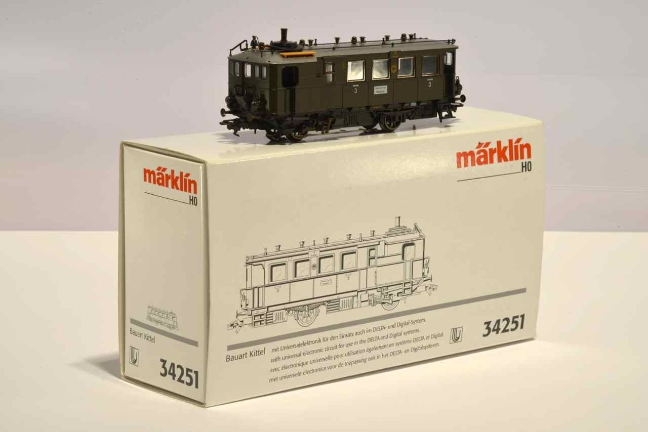 Marklin 34251 Steam Automotive Kittel DRG
