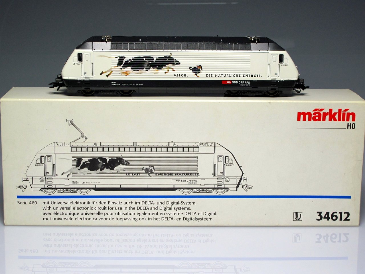 MARKLIN 34612 Locomotive (cow and dog) SEMI-NEW