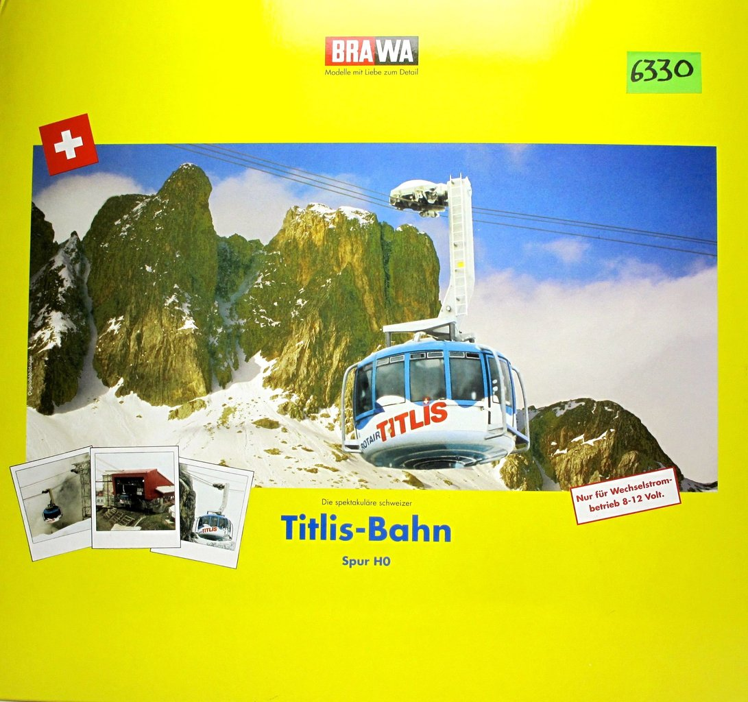 Titlis Cable Car BRAWA 6330 H0 Scale