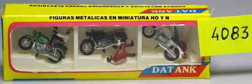 Motorcycles and Bikers DATANK 4083 (6 units)