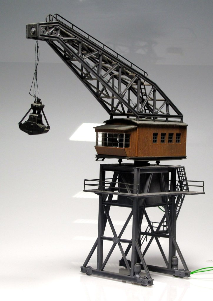 Crane (ALREADY MOUNTED TO YOUR MODEL TRAIN - DIORAMA)
