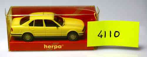 HERPA 4110 BMW 525 i White Taxi