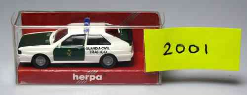 HERPA 2001 Audi de la Guardia Civil Tráfico
