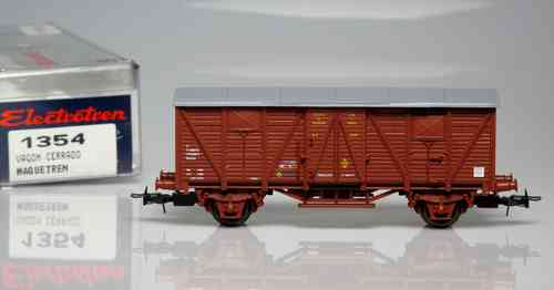 "Closed wagon Special Edition ""Journal Maquetrén"""