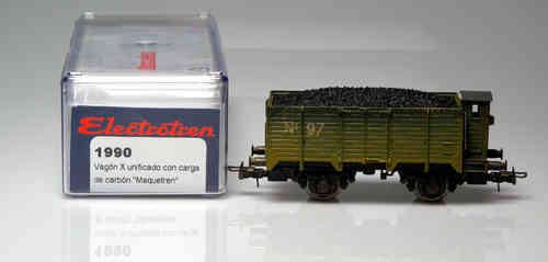 ELECTROTREN X Wagon 1990 Unified carbon filled Maquetrén Special Limited Edition Magazine