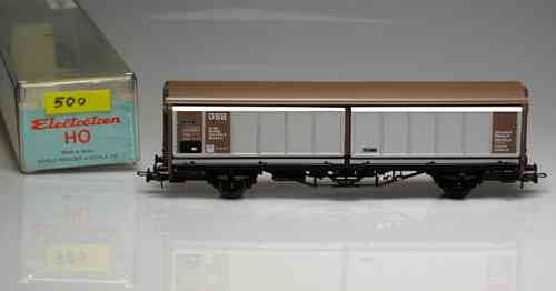 ELECTROTREN 500 wagon loaded with sliding doors DSB