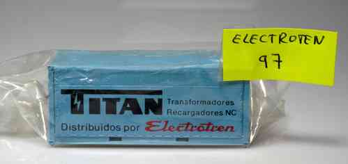 "ELECTROTREN 97 container load ""TITAN"" H0"