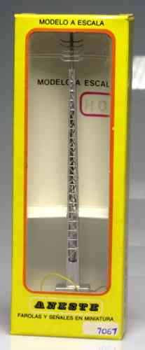 ANESTE 7067 Post 145 mm double light mast. H0 scale