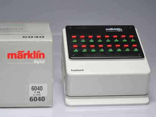 MARKLIN 6040  Keyboard