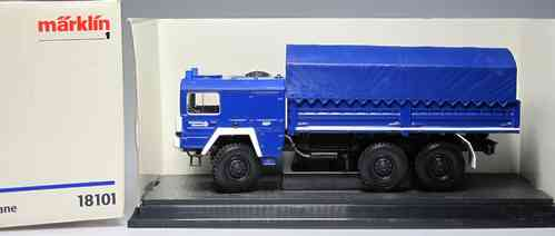 Man Truck THW with awning 1:32 Scale 1