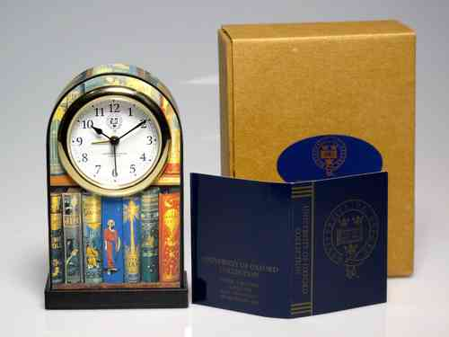 "Reloj "" University of Oxford Collection "" de cuarzo y con alarma 11,5 cm. de altura"