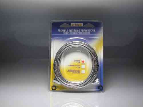 Stainless steel flexible metal shower. 1.75 mts. SHOWER HOSE