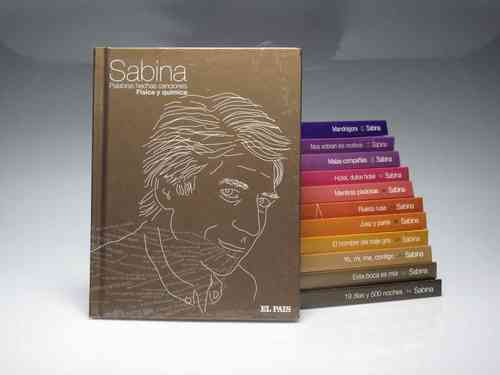 JOAQUIN SABINA Collection 12 books + 12 cd SONY BMG (PREOWNED)