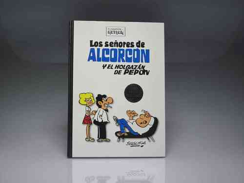 "Classics of humor ""THE LORDS OF ALCORCÓN and Pepón loafer"" Robert Segura (PREOWNED)"