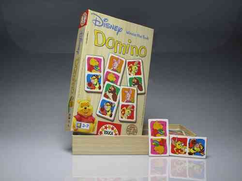 "Disney Domino ""WINNIE THE POOH"" - for children 3-7 years old - (PREOWNED)"