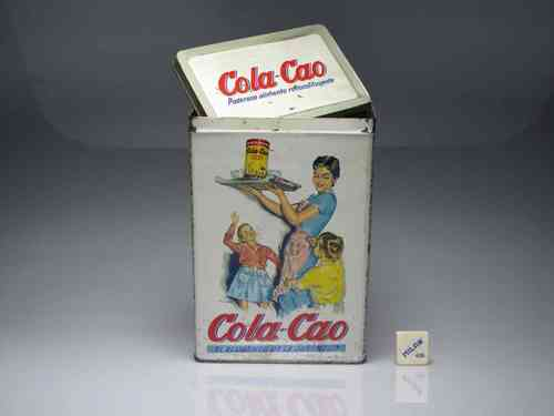"Old can of ""COLA-CAO"" 1,500 gr. (USED)"