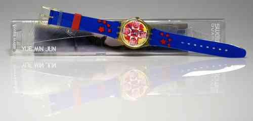 SWATCH Limited Edition (YUE MIN JUN)