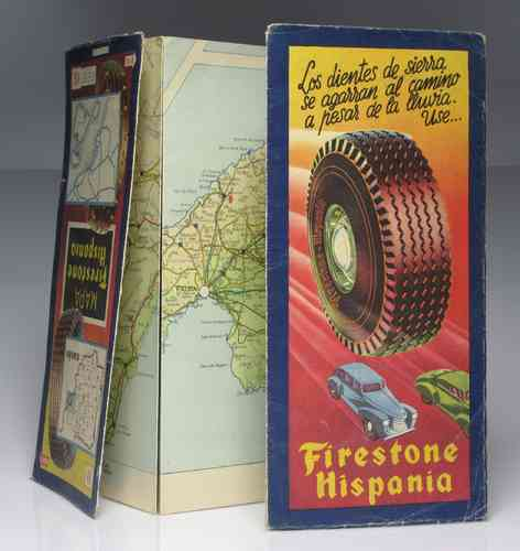 "Map ""FIRESTONE Hispania"" 3rd Edition"