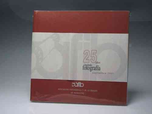 "Set of 4 books AFIP ""25 Years doing photography 2007"""