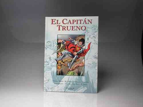 "Book ""CAPTAIN THUNDER"" Ediciones B (PREOWNED)"
