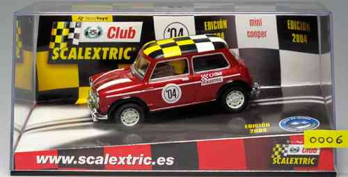 "SCALEXTRIC Mini Cooper 6137 ""Special Edition 2004"""