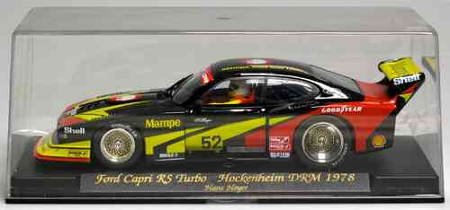 Slot SCX Scalextric FLY 6318 A144 Ford Capri RS Turbo Hockenheim DRM 1978 - New