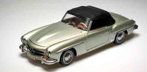 Mercedes Benz 190 SL convertible metallic S. 1:18 (NO BOX-READ MORE*)