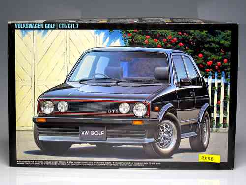Volkswagen Golf Gti I / Ci 1.7 (riding model) SCALE 1:24