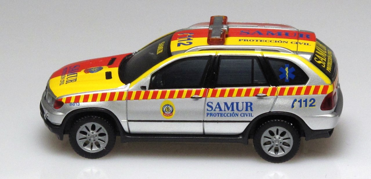 Civil Protection Toys : Herpa bmw tm civil protection samur