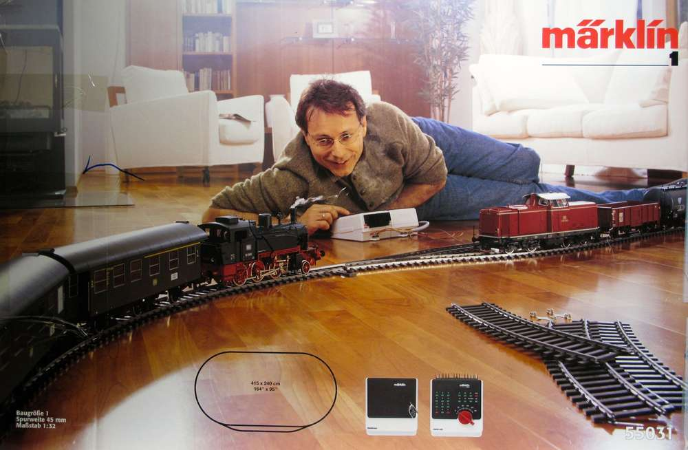 MARKLIN 55031 Digital start box with 2 trains Scale 1 (USED
